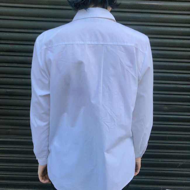 back of Vintage White Tyrolean Shirt