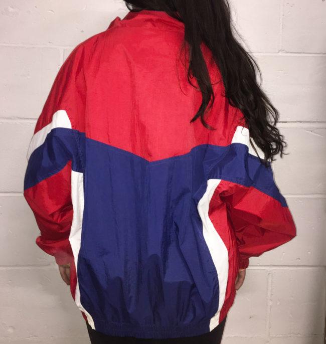 back of Vintage Wilson Sportswear Jacket