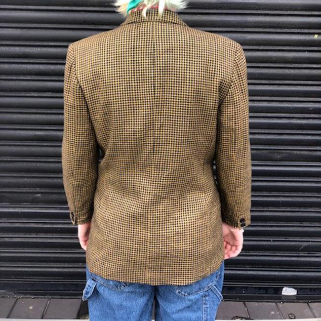 back of Womens Pendleton Wool Jacket