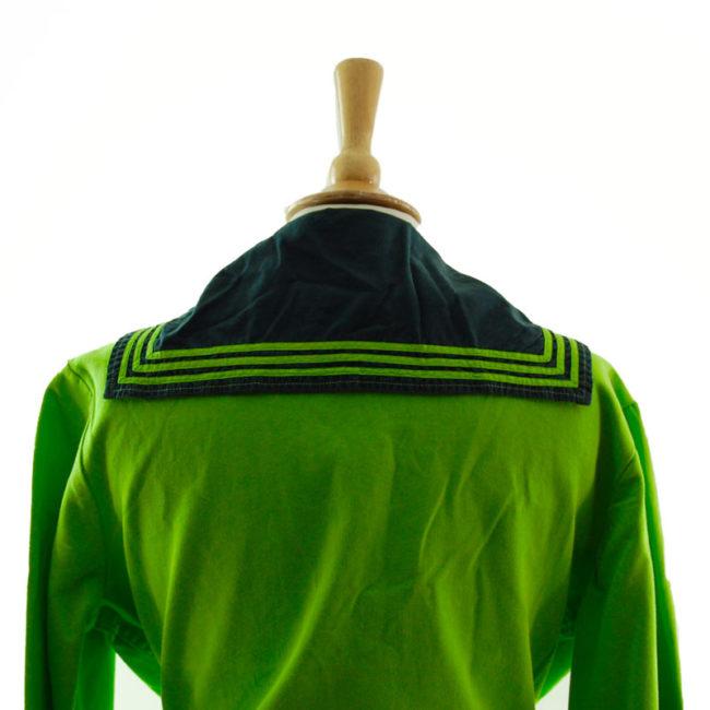 bib of Neon Green Bib Sailor Top