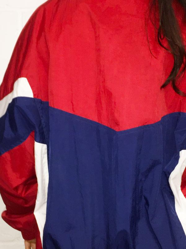 close back of Vintage Wilson Sportswear Jacket