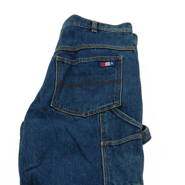 close up of USA Works Carpenter Jeans