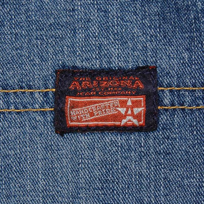 label of Arizona Carpenter Jeans