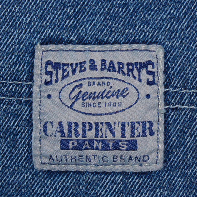 label of Steve And Barry Carpenter Jeans