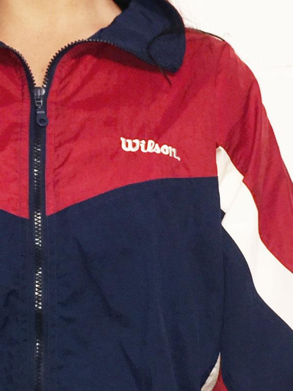 label of Vintage Wilson Sportswear Jacket