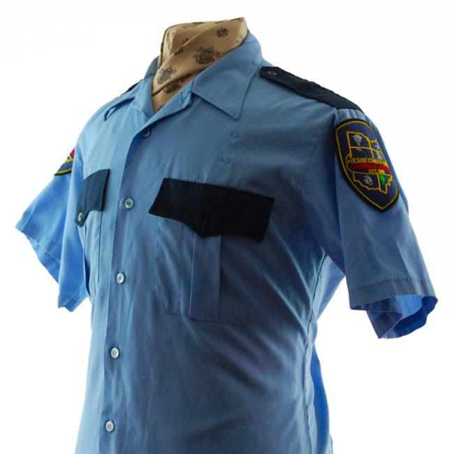 side of 1985 Criminal Justice Shirt