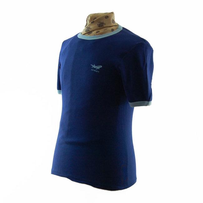 side of Navy Blue Airways Tee Shirt