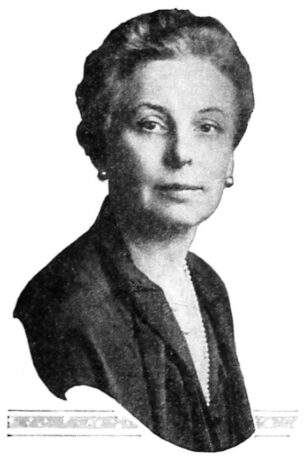 Photograph of Edna Woolman Chase, editor-in-chief of Vogue-1931