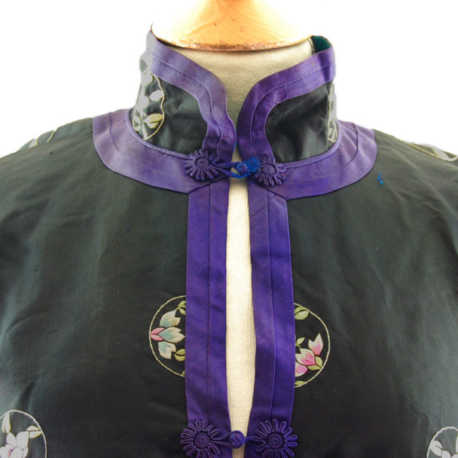 Traditional Hanfu Robe collar Traditional Embroidered Oriental Suit