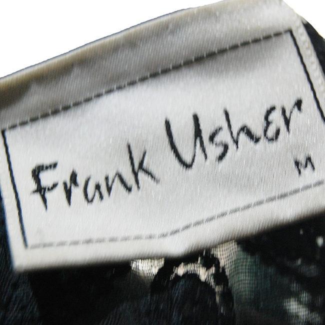 label of 90s Black Sequined Cardigan