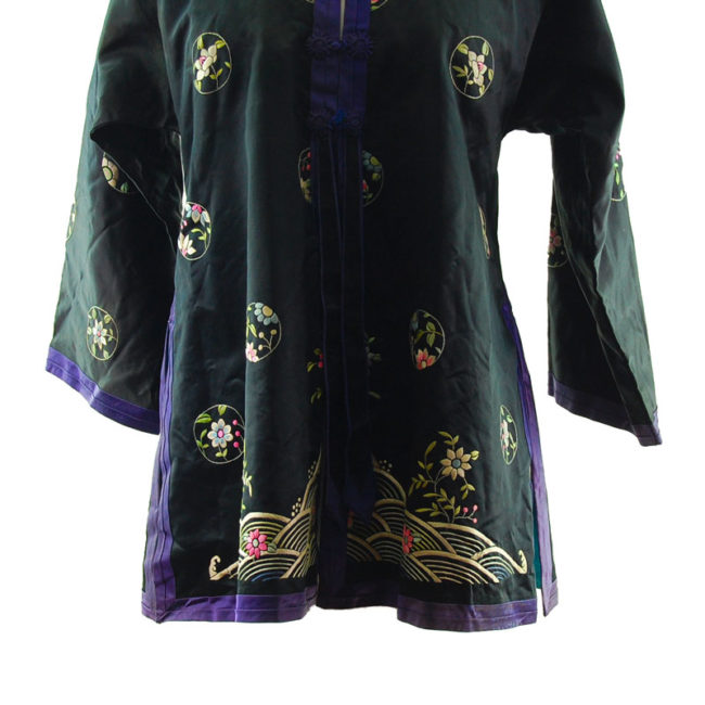 pattern Traditional Embroidered Oriental Suit