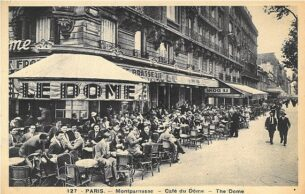 Henry Clarke, the Photographer who Brought American Style to Paris, Cafe Dome