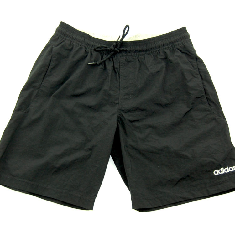90s Adidas Black Sport Shorts