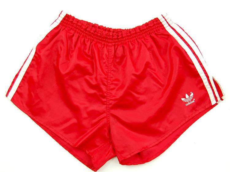 90s Adidas Pink Stripe Sport Shorts