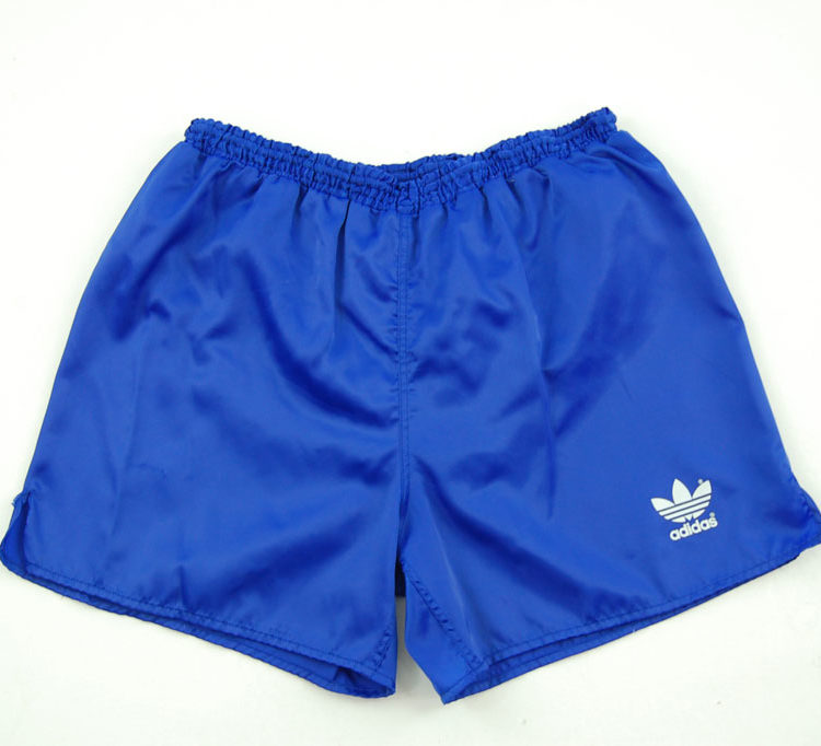 90s Adidas Plain Blue Sport Shorts