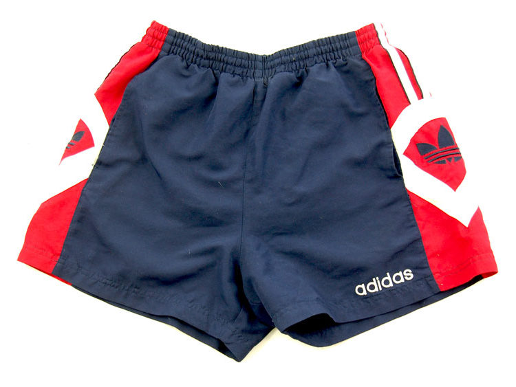 90s Adidas Red And Blue Sport Shorts