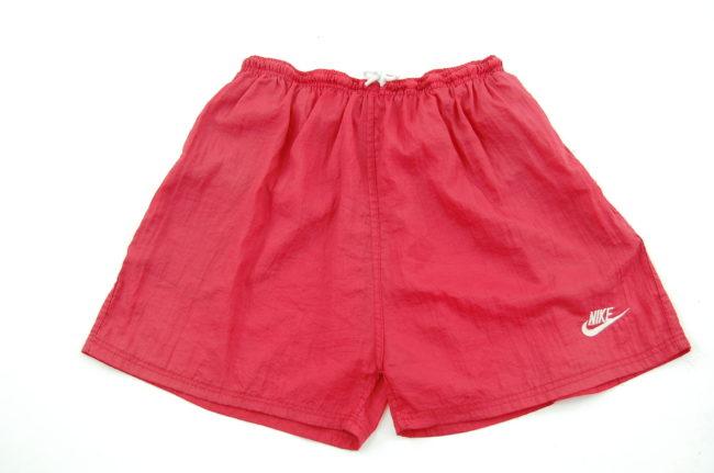 90s Burgundy Nike Sport Shorts