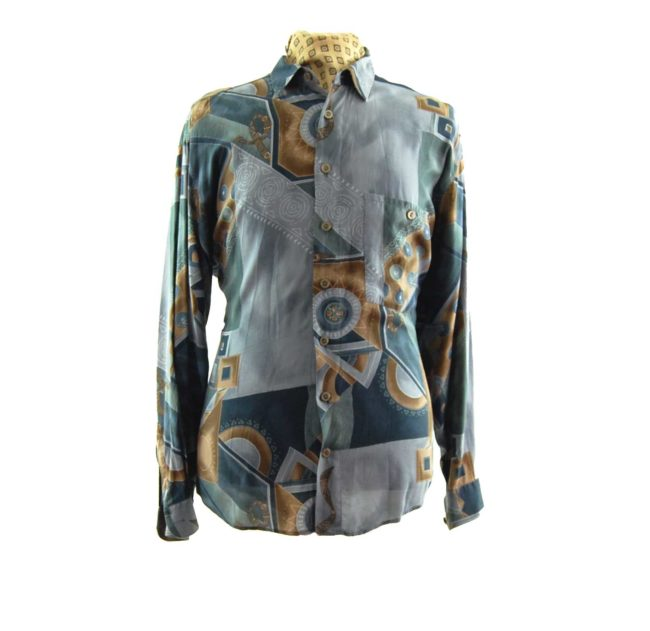 90s Vintage Abstract Shirt