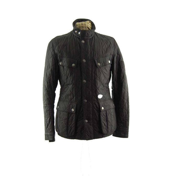 Barbour Diamond Quilt Winter Coat
