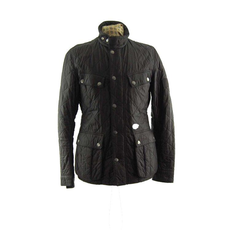 Barbour Diamond Quilt Winter Coat