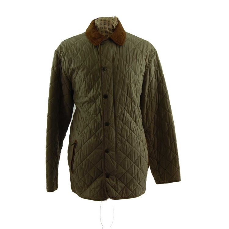 Barbour Milano Fine Cotton Quilted Coat