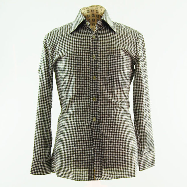 Houndstooth 70s Shirt