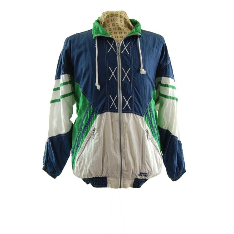 Vintage Magic Venture Windbreaker Jacket