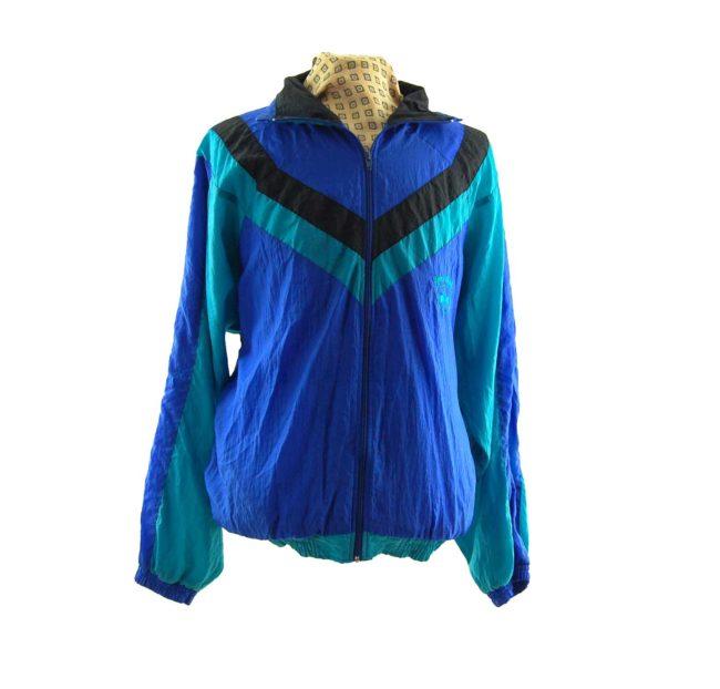 Vintage Sporting Windbreaker Jacket