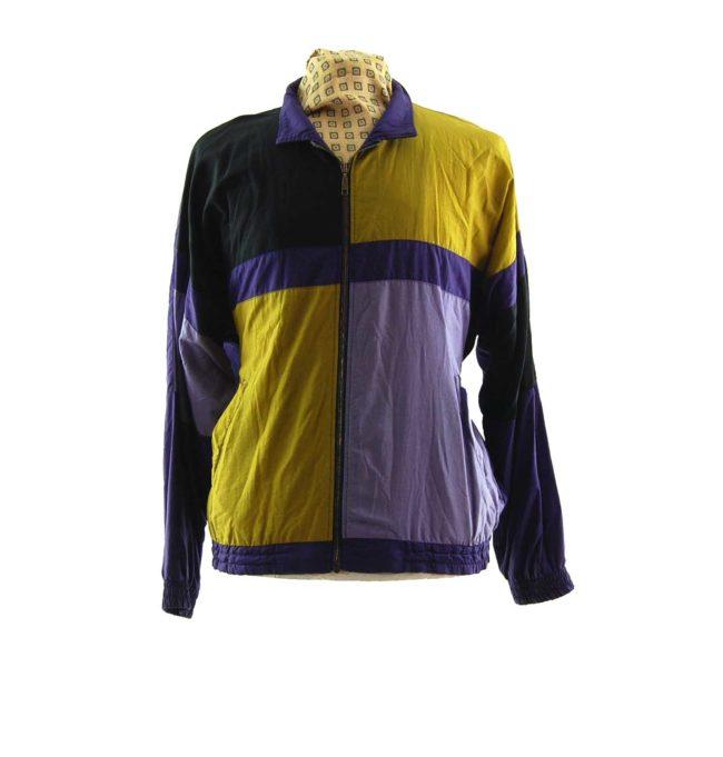 Vintage Unbranded Windbreaker Jacket