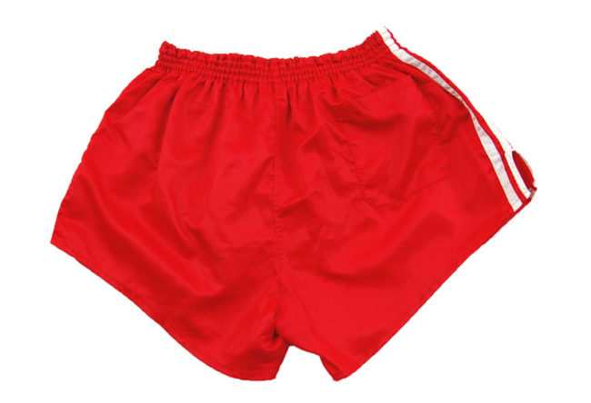 back 90s Adidas Red Sport Shorts