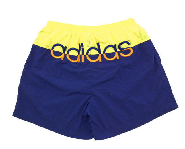back 90s Adidas Two Tone Sport Shorts