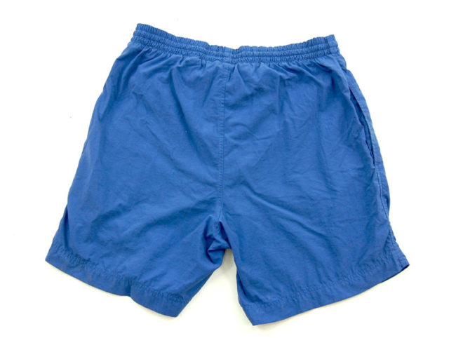 back 90s Blue Nike Sport Shorts