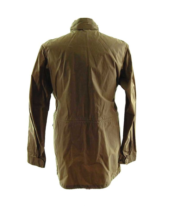 back of Barbour Lightweight Waterproof Coat
