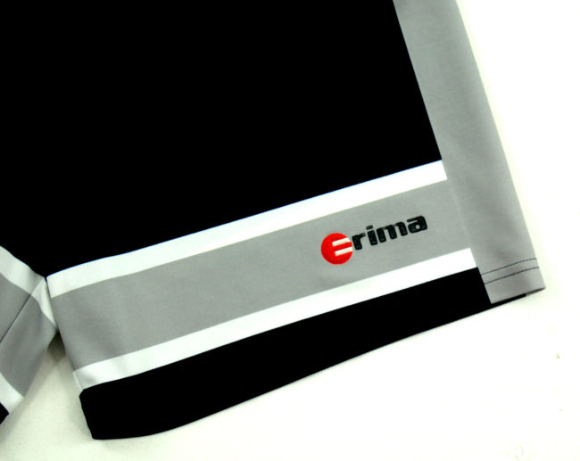 close up of 90s Erima Sport Shorts