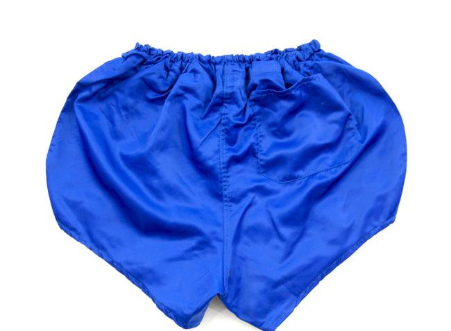 close up of 90s Puma Sport Shorts