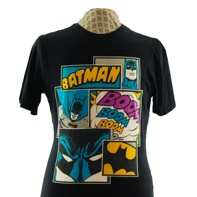 close up of DC Comics Batman T Shirt