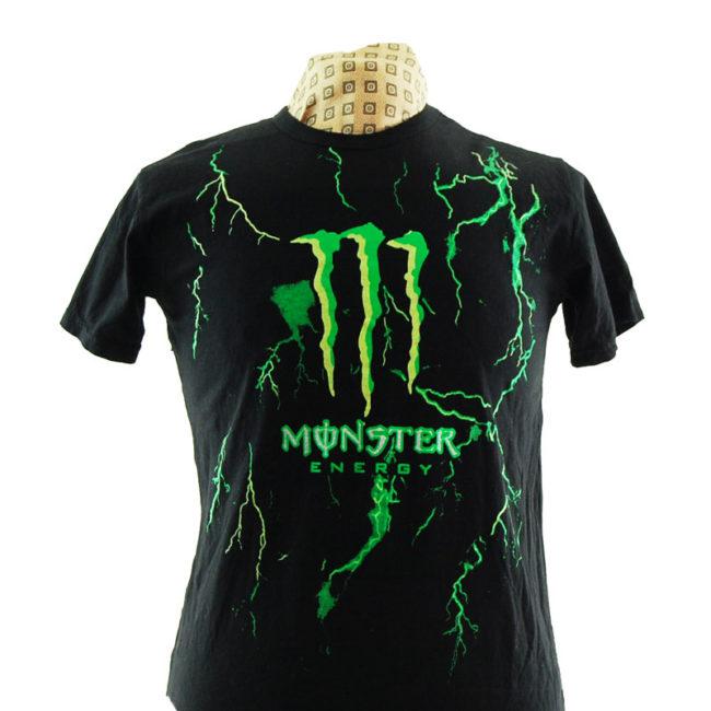 close up of Monster Energy Original T Shirt