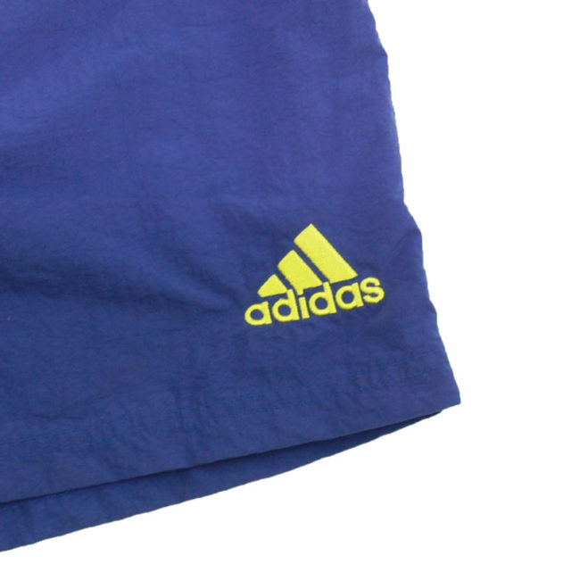 logo 90s Adidas Two Tone Sport Shorts