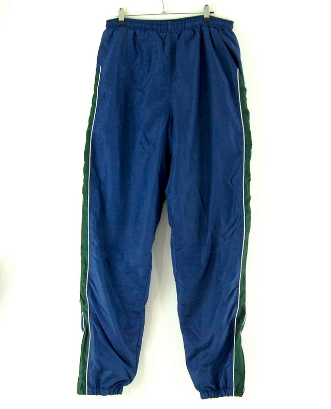 2000s Blue Shell Suit trousers