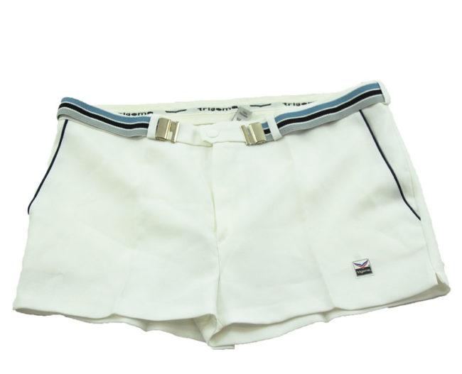 90s Trigema White Tennis Shorts