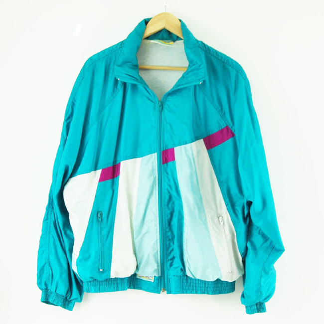 90s Turquoise Shell Suit