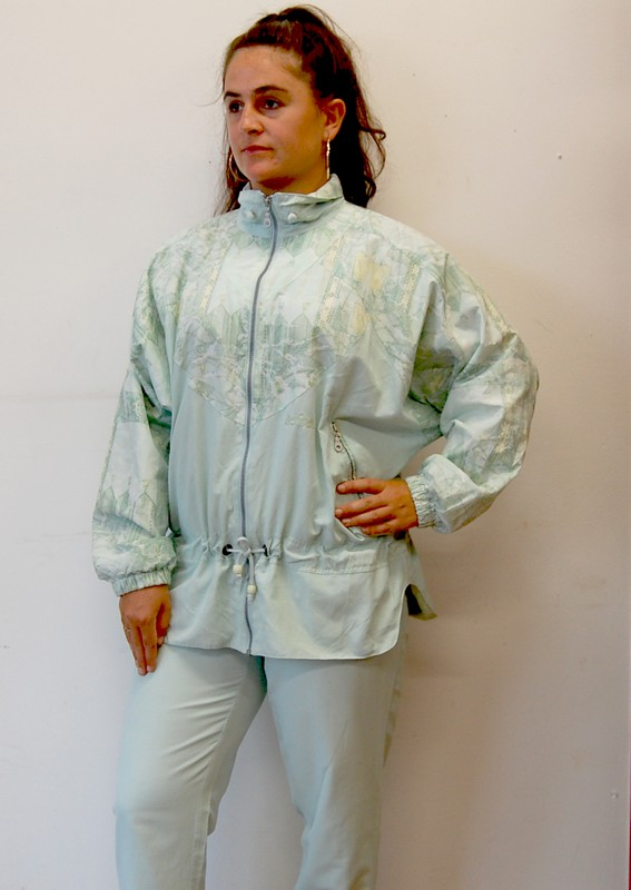 Authentic Klein Shell Suit profile view