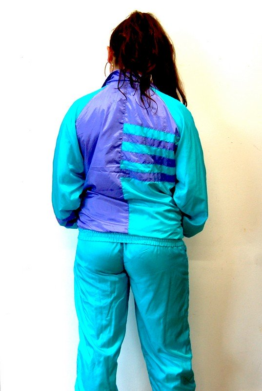 Back of 90s Sports Shell Suit