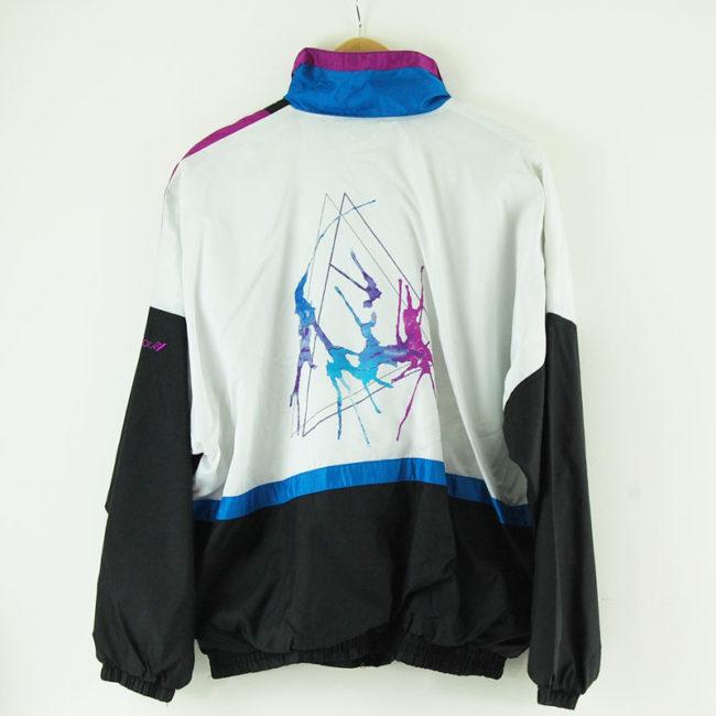 back Paint Splash Shell Suit