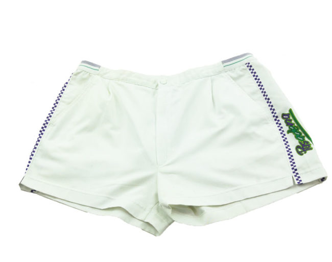 checkered Pasadena Tennis Shorts