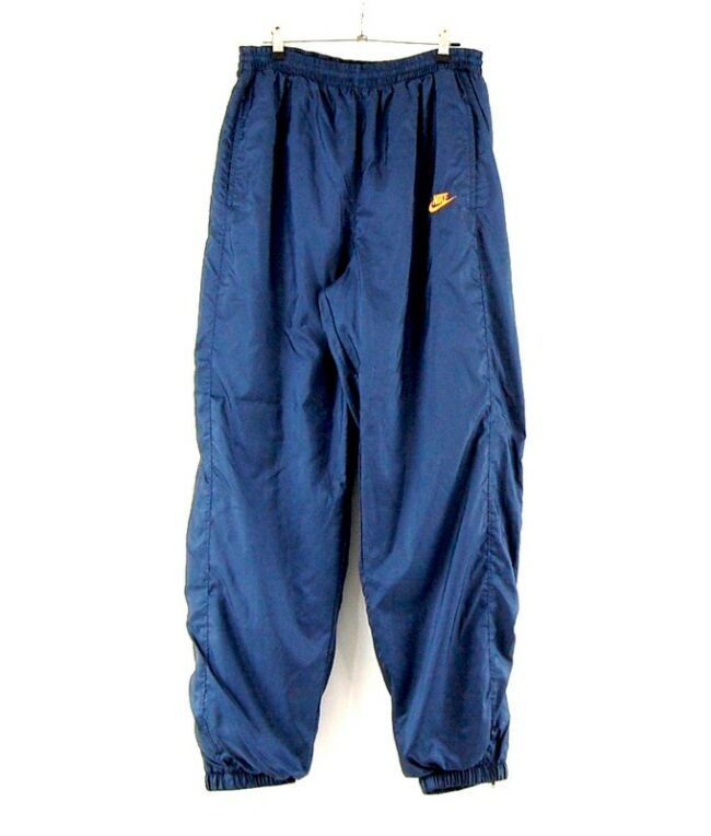 90s Navy Nike Trackie Bottoms