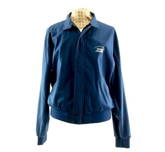 Blue Telecommunications Harrington Work Jacket