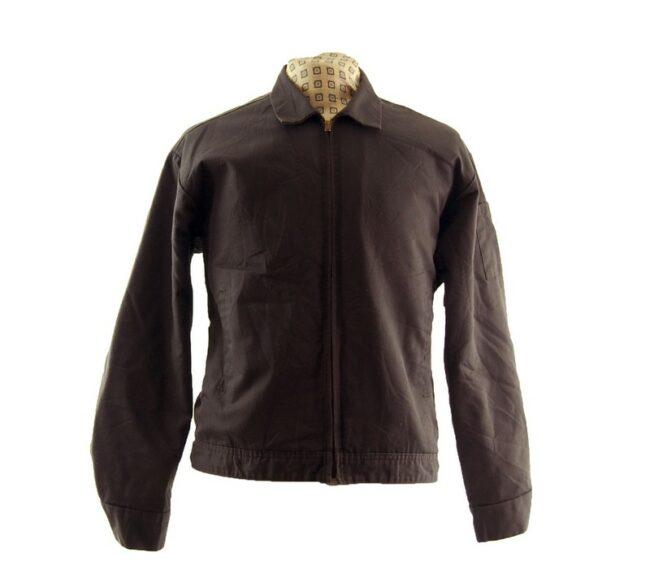 60s Brown Work Jacket