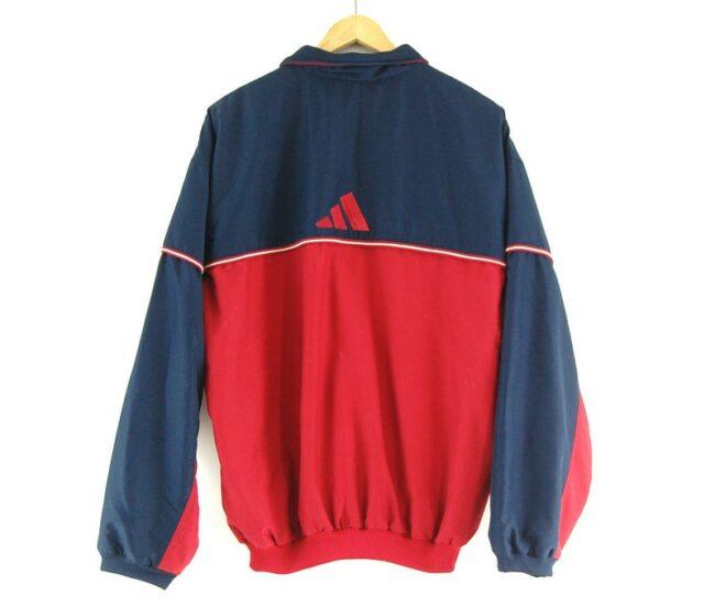 Back of Adidas track jacket