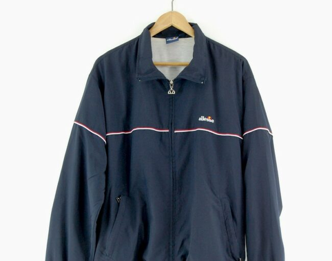 Ellesse track jacket close up
